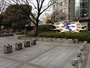 豊津公園に設置されている「リオ」