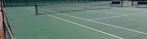 江坂テニスセンター 屋外コート