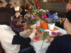 花育体験コーナー