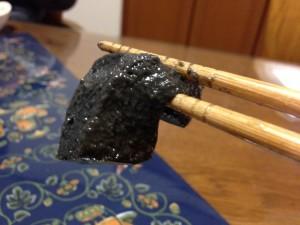 浜「黒ごま豆腐」ぷるんぷるん