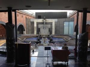 ル・ジャルダン中庭