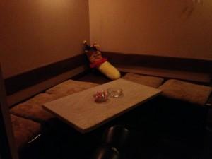 リンダ 店内テーブル席