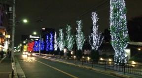 江坂公園前イルミネーション(1)