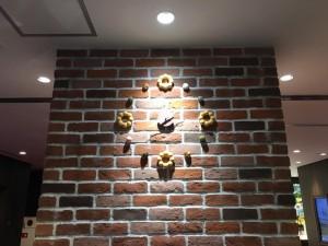 ミスド壁時計